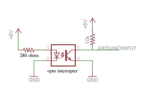 Arduino Hand Drill Schematic