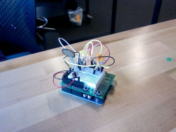 Arduino High Heel Massage testing