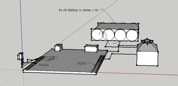 Arduino Infrared Controller diagram