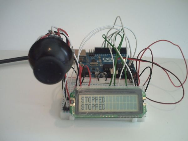 Arduino Joystick Breadboard with LCD Output -Use Arduino for