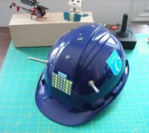 LED Hat Display with Pong using an Arduino