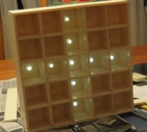Daft Punk Coffee Table 5×5 LED Matrix using an Arduino
