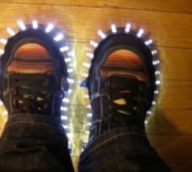 Super Brite LED Sneakers 1.0 using an Arduino
