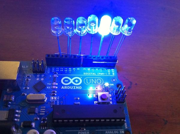 Arduino LED light bar