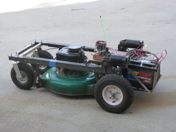 Arduino Lawnmower