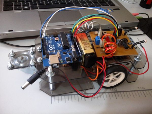 Arduino Light Follower Robot