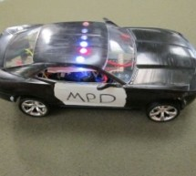 Model Police Car using an Arduino