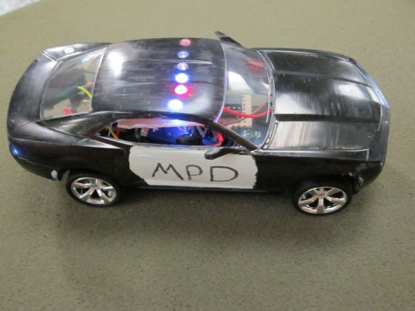 Arduino Model Police Car