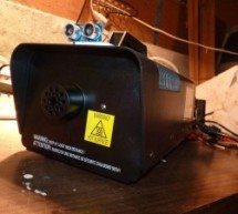Motion Triggered Fog Machine using an Arduino