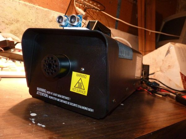 Arduino Motion Triggered Fog Machine