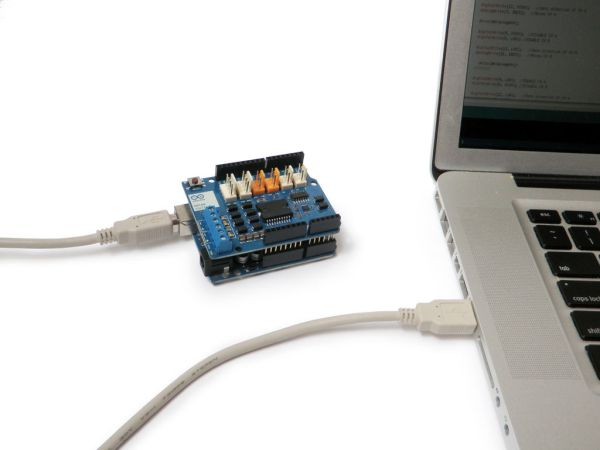 Arduino Motor Shield program