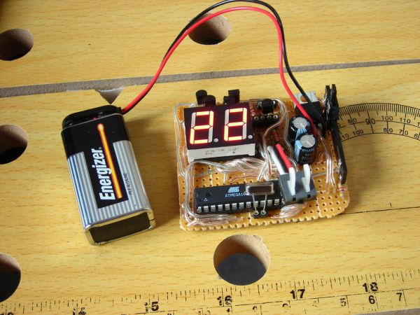 Arduino Multifunction Digital Thermometer connection