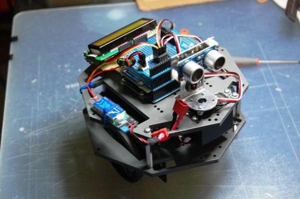 Arduino Ping Display Robot