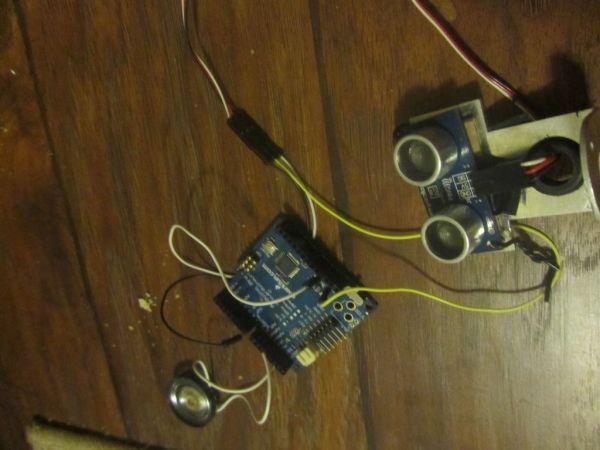 Arduino Ping Organ