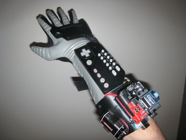 Hacking a powerglove using arduino use for projects