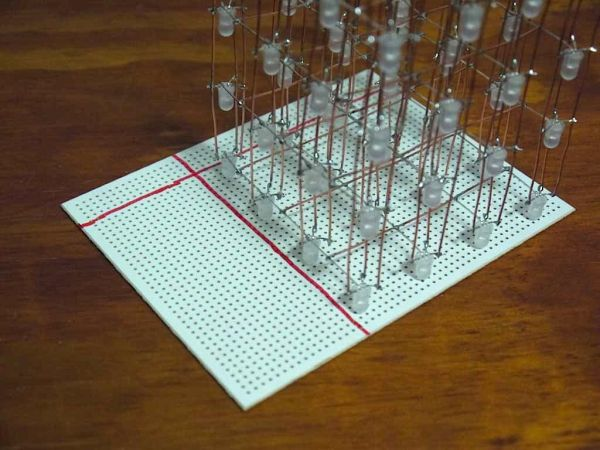 Arduino RGB LED Cube pcb
