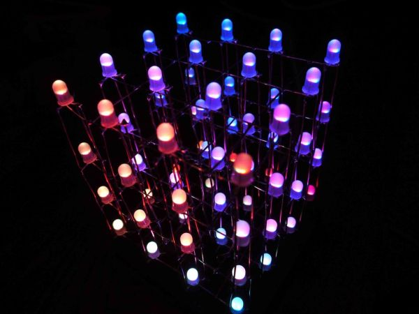 Arduino RGB LED Cube