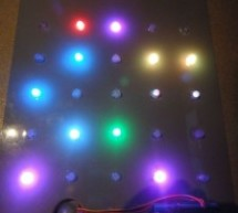 5×5 rgb lpd6803-led matrix arduino controlled