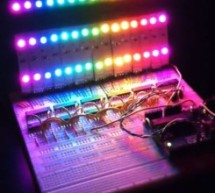 RGB LED Rainbow Fader using an Arduino