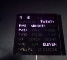 Rainbow Word Clock using Arduino