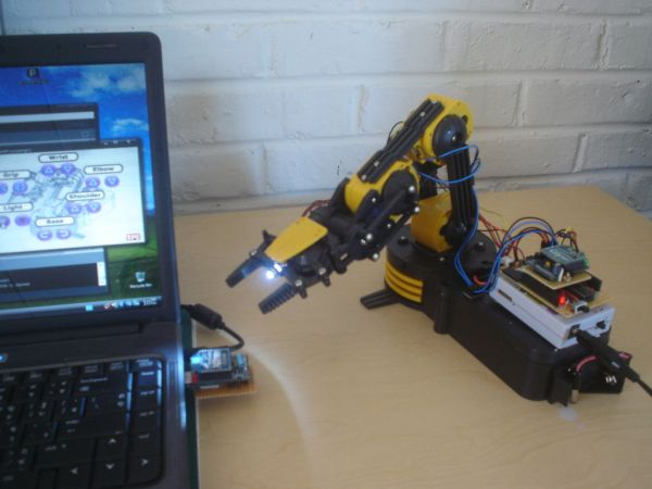 Make wired robotic arm edge to quot wireless with diy arduino