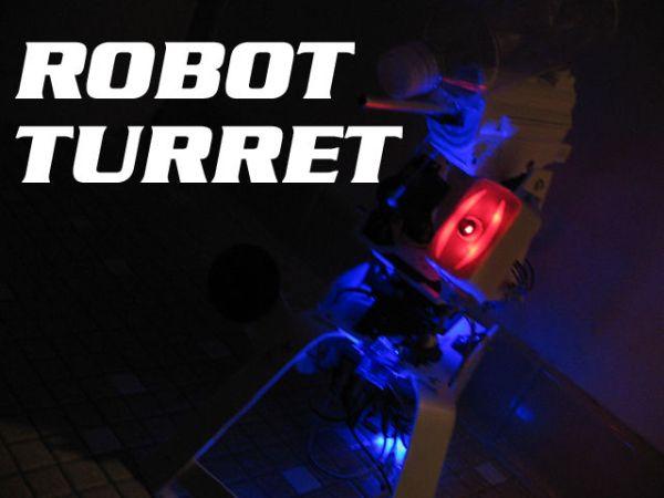 Arduino Robotic Talking Turret