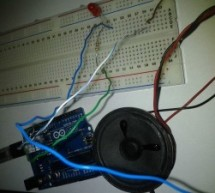 Arduino SOS signal with 8ohms speaker and LED blinking