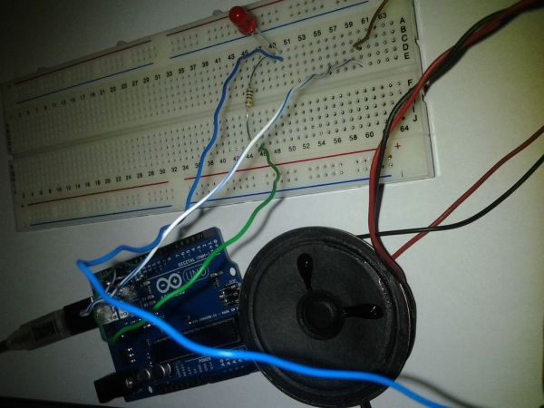 Arduino SOS signal with Speaker