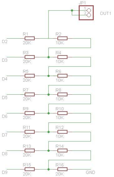 Arduino Scope clock circuit