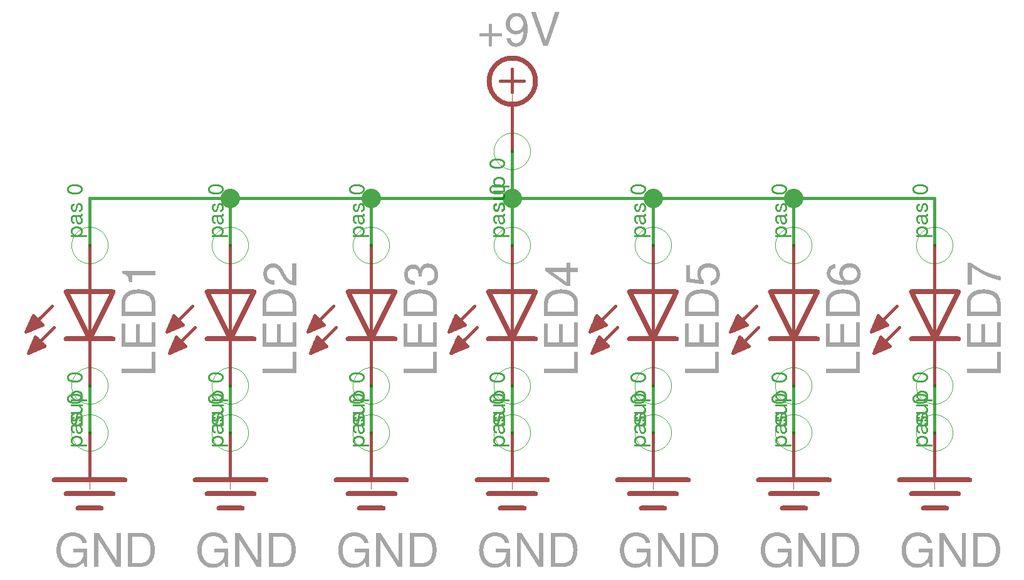 Arduino Single Digit circuit
