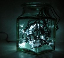 Star Jar Geiger counter triggered LED decoration using Arduino