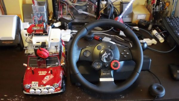 Arduino Steering Wheel