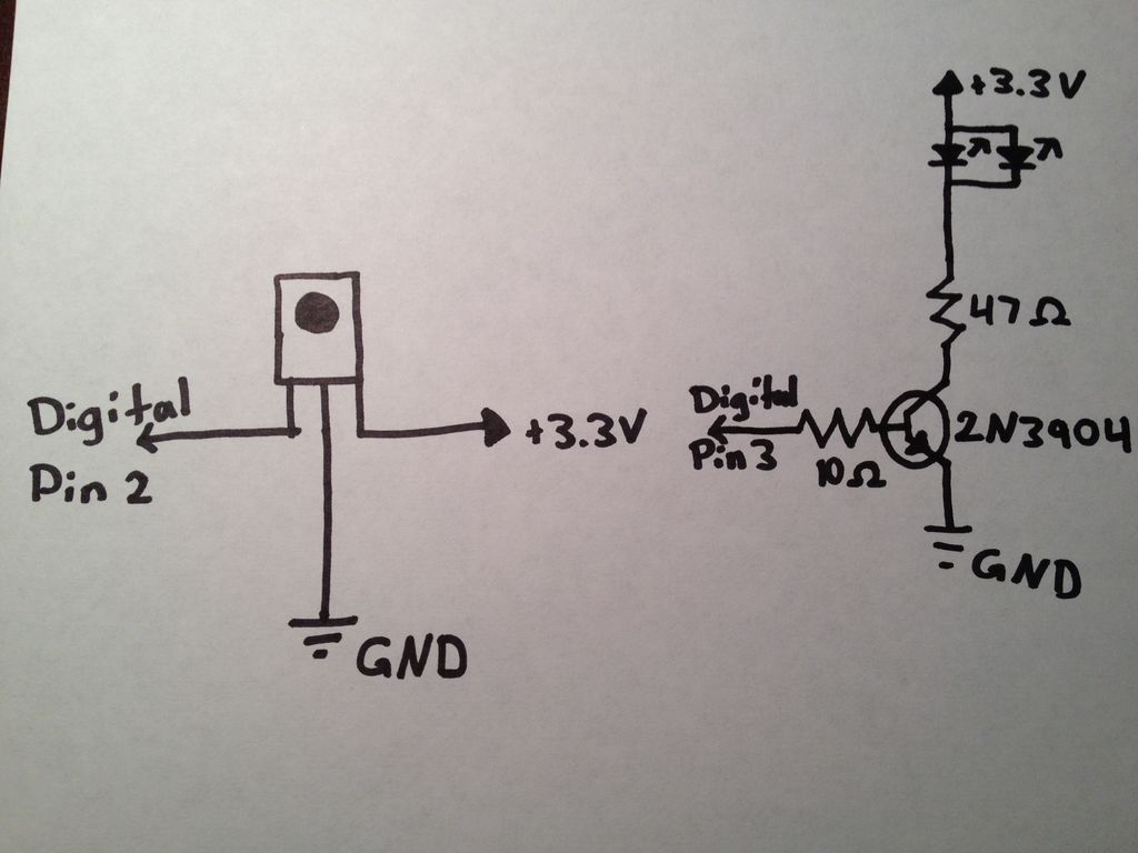 Arduino TV Annoyer circuit