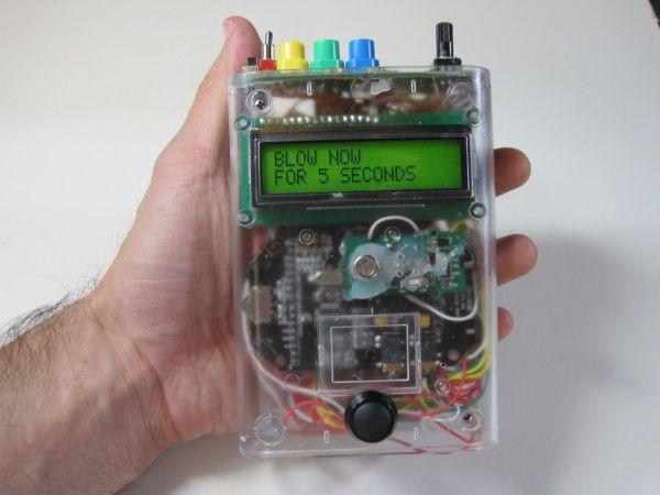 Arduino Talking Breathalyzer
