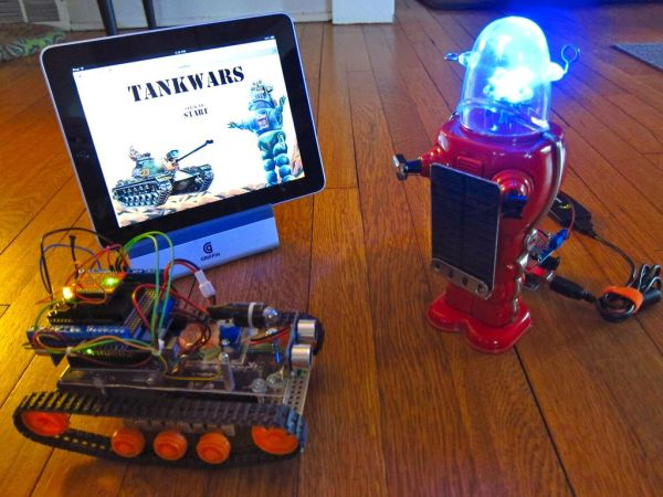 Arduino TankWars game