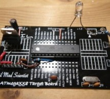 Arduino from Evil Mad Scientist ATmegaxx8 Target Board
