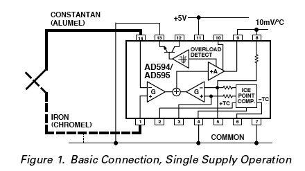 Arduino Temperature Control circuit