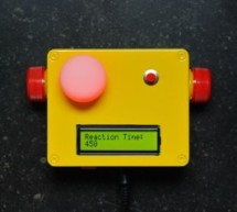Reaction Time Tester using an Arduino