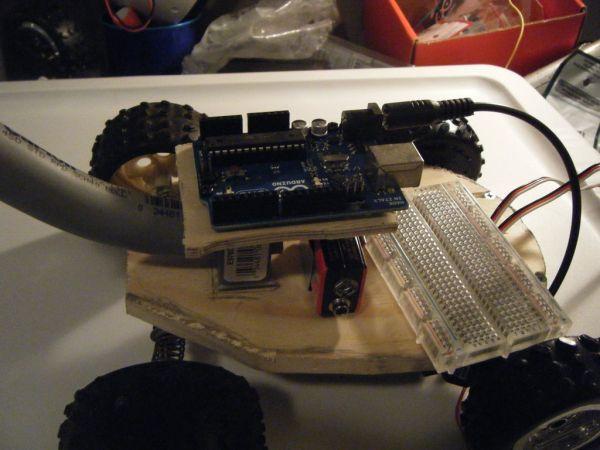 Arduino Turtle Robot wiring