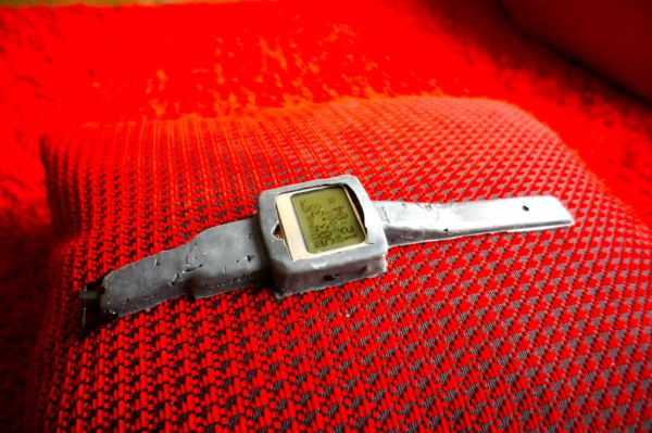 Arduino Watch with Nokia 3110 screen