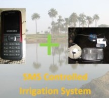 SMS controlled Wireless Irrigation System using an Arduino