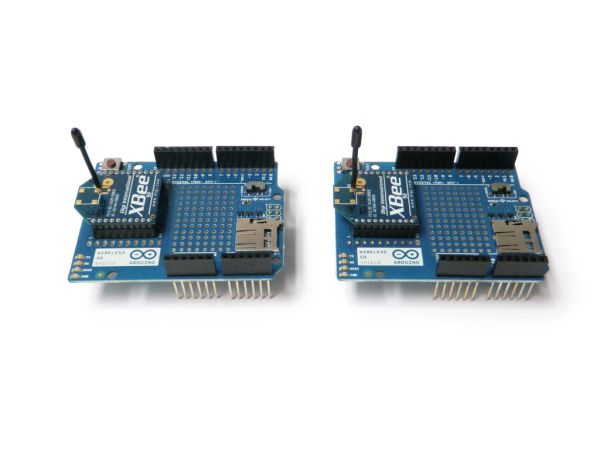 Arduino Wireless SD Shield plug in Xbee