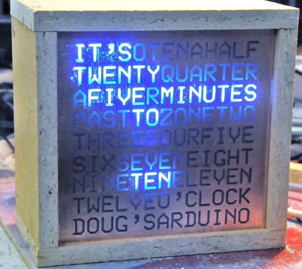 Arduino Word Clock