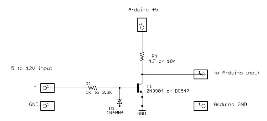 Arduino automatic blind hooked up circuit