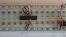 Standalone Arduino chip on breadboard