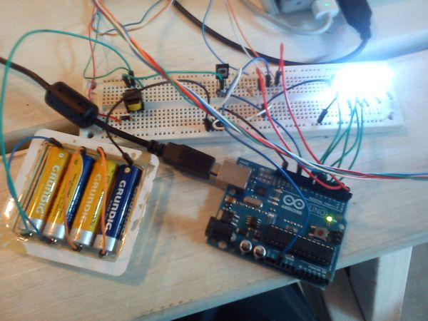 Arduino electronic shock game