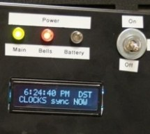 Arduino-based master clock for schools