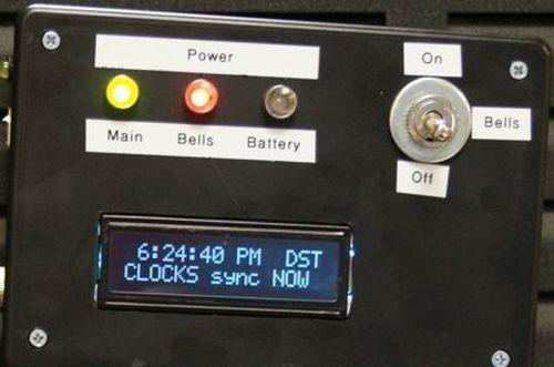 Arduino master clock