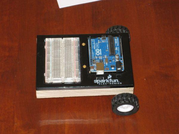 Arduino robotics platform breadboard
