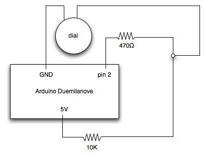 Arduino rotary phone dial circuit